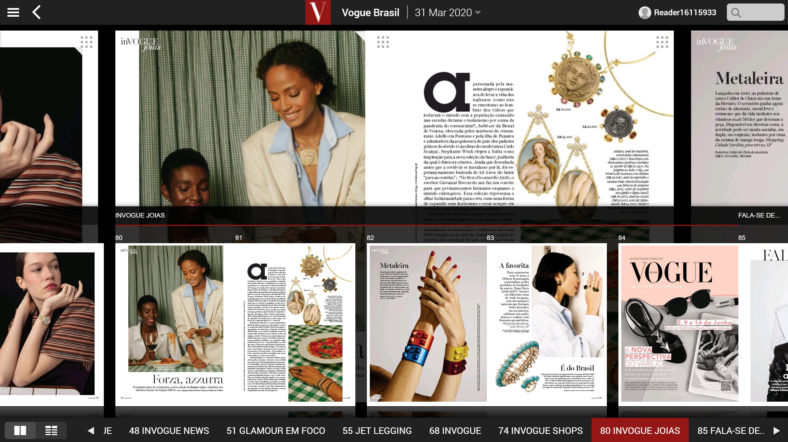 Editora Globo - Vogue - Digital Replica