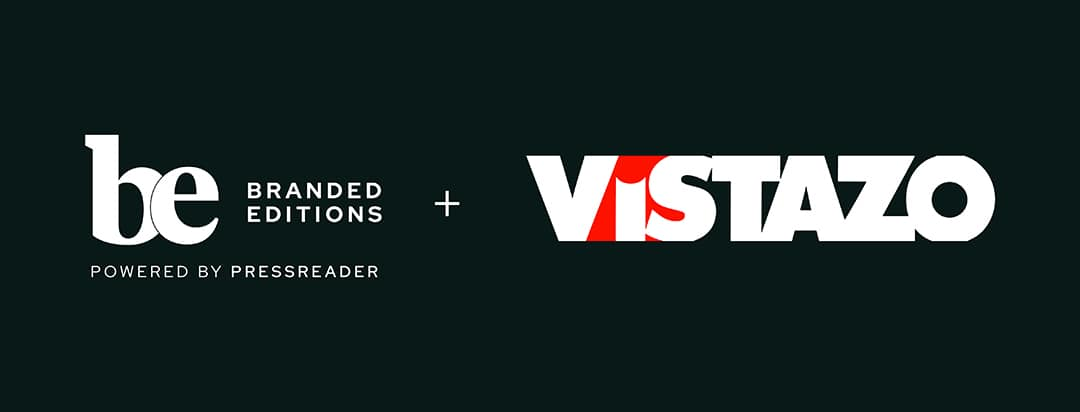 Branded Editions logo and Vistazo logo