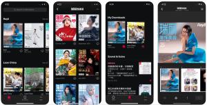 Rayli app - iOS Device View