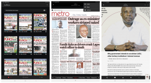 Digital Edition of Newspaper