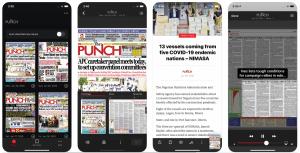 Digital Edition of Newspaper App on iOs