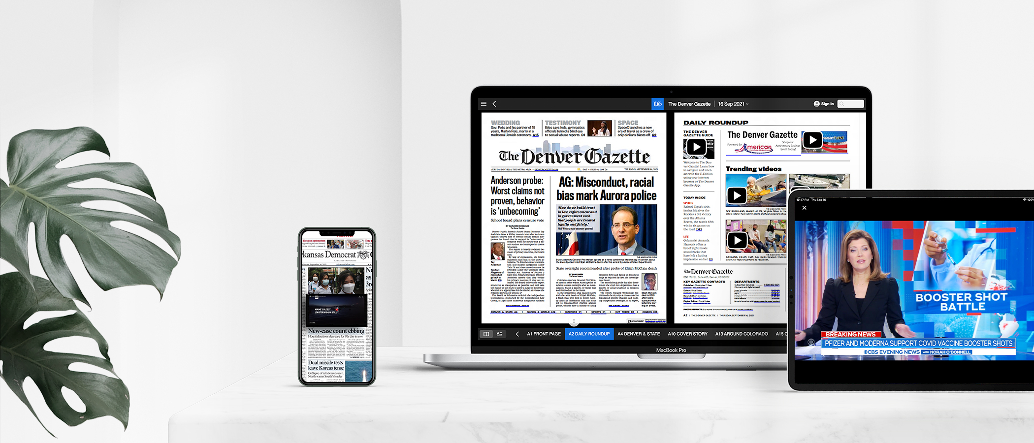Multimedia integration for e-newspapers